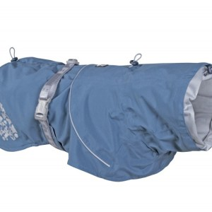 Hurtta Monsoon Regnfrakke Bilberry Blue 45cm