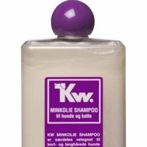 Kw Hunde og Katte Shampoo - Minkolie - 500ml - - - -