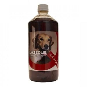 Lakseolie til hund og kat, 1 liter