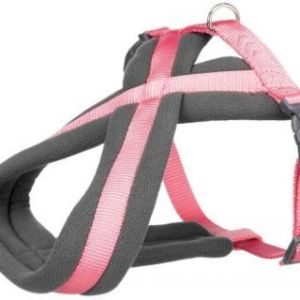 Premium Sele m. fleece Pink, vælg størrelse Large