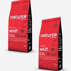 2x12 kg Naturea Naturals Adult m/Lam