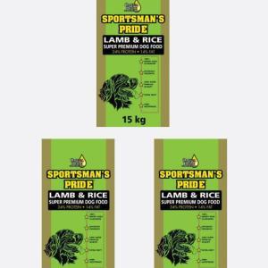 3x15 kg Lam & Ris (Grøn)