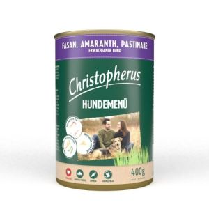 Christopherus Hundemenu Fasan 400g