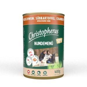 Christopherus Hundemenu Vildsvin 400g