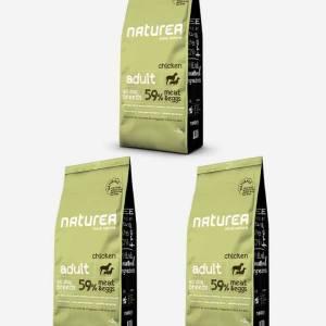 3x12 kg Naturea Naturals Adult m/ Kylling
