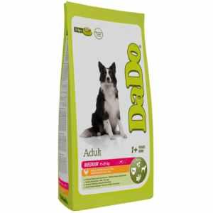 Dado hundefoder - Adult Medium - Kylling og ris