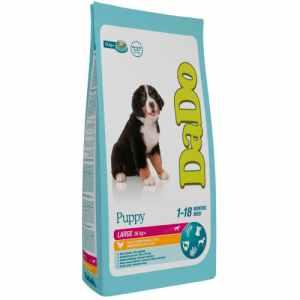 Dado hundefoder - Puppy Large - Kylling og ris