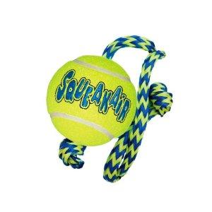 KONG AirDog Squeaker Tennisbold m/reb