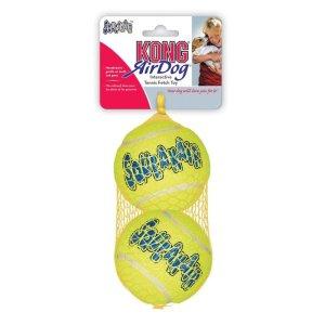 KONG AirDog Squeaker Tennisbolde 2 stk - Large