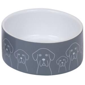 Nobby hundeskål - Dogs - Grå