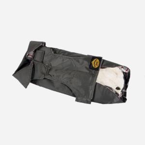 Grå regnjakke med aftageligt foer fra Fashion Dog (art.109)