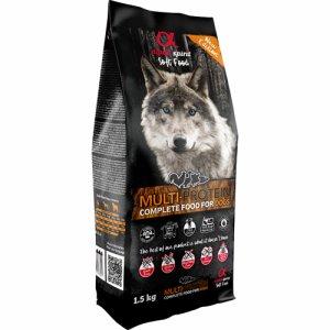 Alpha Spirit Hundefoder Multi-Protein 1,5kg