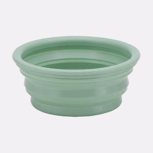 Bowl on the go - Transportabel foldeskål i naturgummi (Mint)
