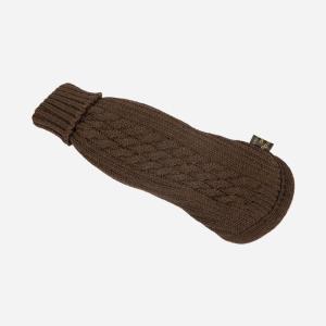 Brun strikket Sweater fra Fashion Dog (art.303)