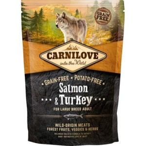Carnilove Adult LB Salmon & Turkey smagsprøve, 100g