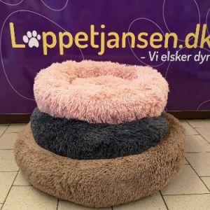 Fluffy Donut seng Pink Medium