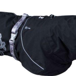 Hurtta regnjakke Drizzle Coat Raven 45cm