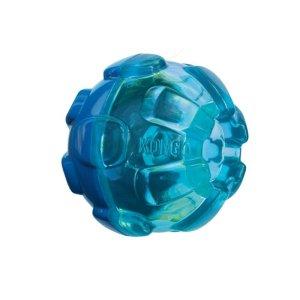 Kong Hunde Aktivitetslegetøjs Gummi - Large - Ø12,7 cm - Støjsvag - Til Godbidder og Foder