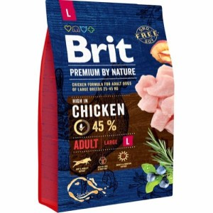 Brit Premium By Nature Chicken Adult Large Breed, 15 kg