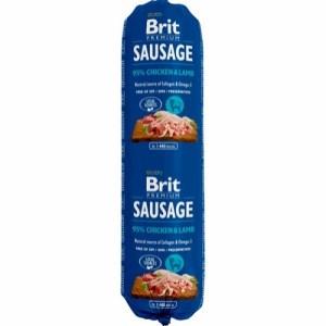 Brit Sausage Chicken & Lamb, 800g