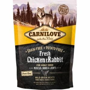 Carnilove Adult Chicken & Rabbit, 1.5 kg