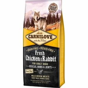 Carnilove Adult Chicken & Rabbit, 12 kg