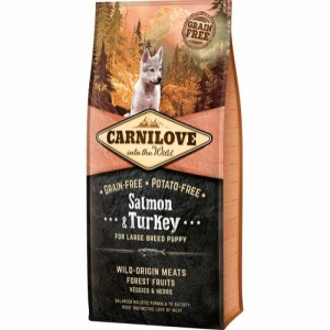 Carnilove Puppy Large Breed Salmon & Turkey, 12 kg