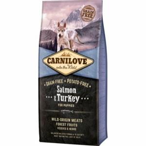 Carnilove Puppy Salmon & Turkey, 12 kg