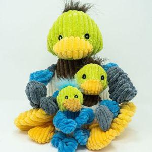 Huggle Hounds Knotties Duck X-small