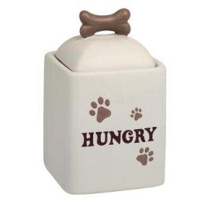 Nobby Hunde Snack Godbids Krukke i Keramik, Hungry - - - - -