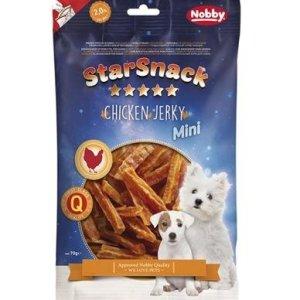 StarSnack Mini Hunde Snack Godbidder - Med Kyllinge Stænger - 70g - 2% Fedt