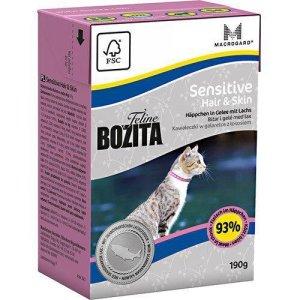 Bozita Feline Katte Vådfoder - Udendørs & Aktiv - Gele - 190g - Tetra