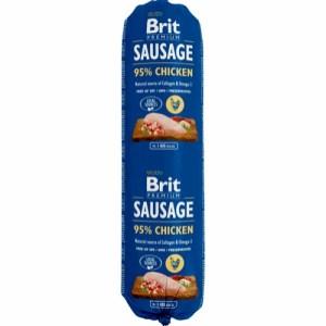 Brit Sausage vådfoder Kylling 800g