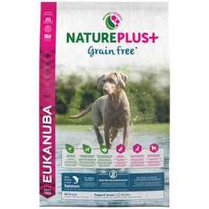 Eukanuba hundefoder - Nature plus+ grain free hvalp - Laks