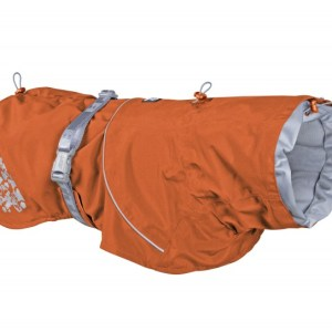 Hurtta Monsoon Regnfrakke Buckthorn Orange 45cm