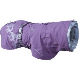 Hurtta regnjakke Drizzle Coat currant lilla 45cm