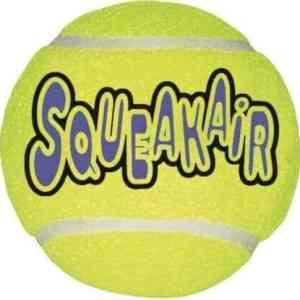 Kong Hundelegetøjs Tennisbold - 3-pak - X-Small - Ø4cm