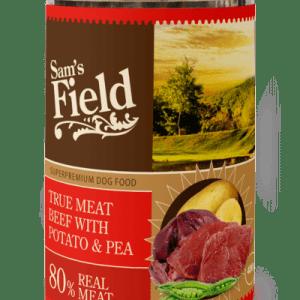 Sam´s Field Kornfri vådfoder Okse, kartofler og ærter 400g*