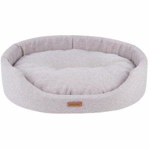 Amiplay Montana Oval Hundeseng - Flere Størrelser - Cream