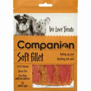 Companion Soft Filet m. Kylling & And 80g