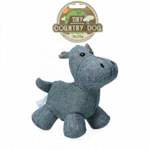 Country Dog Tiny Bella Hundelegetøjs Bamse - Genbrugsplast - 16cm