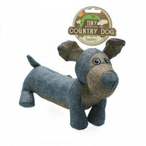 Country Dog Tiny Daisy Hundelegetøjs Bamse - Genbrugsplast - 30cm