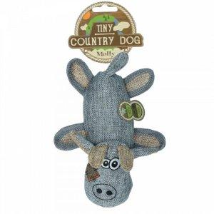 Country Dog Tiny Molly Hundelegetøjs Bamse - Genbrugsplast - 17cm