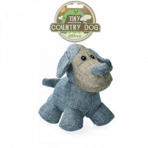 Country Dog Tiny Oliver Hundelegetøjs Bamse - Genbrugsplast - 16cm