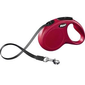Flexi New Classic Compact flexline, bånd rød-XS