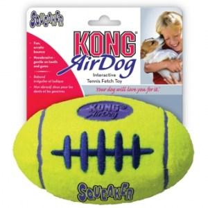 KONG AirDog Squeaker Football tennisbold-Medium