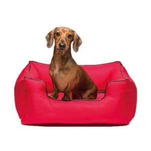 KONG Lounger Hundeseng - Rød