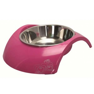 Rogz Bowl Luna, Pink-160 ml
