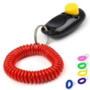 Spiralarmbånd til klikker, nøgle m.m.-Lilla