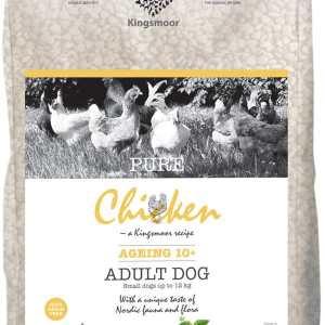 2,75 kg Kingsmoor Pure Dog Chicken age10+ SMÅ RACER- Pure Senior